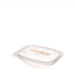 375g Hinged Salad Pack With Fork